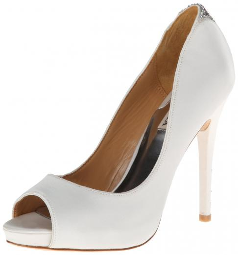 Joey Platform Pump White