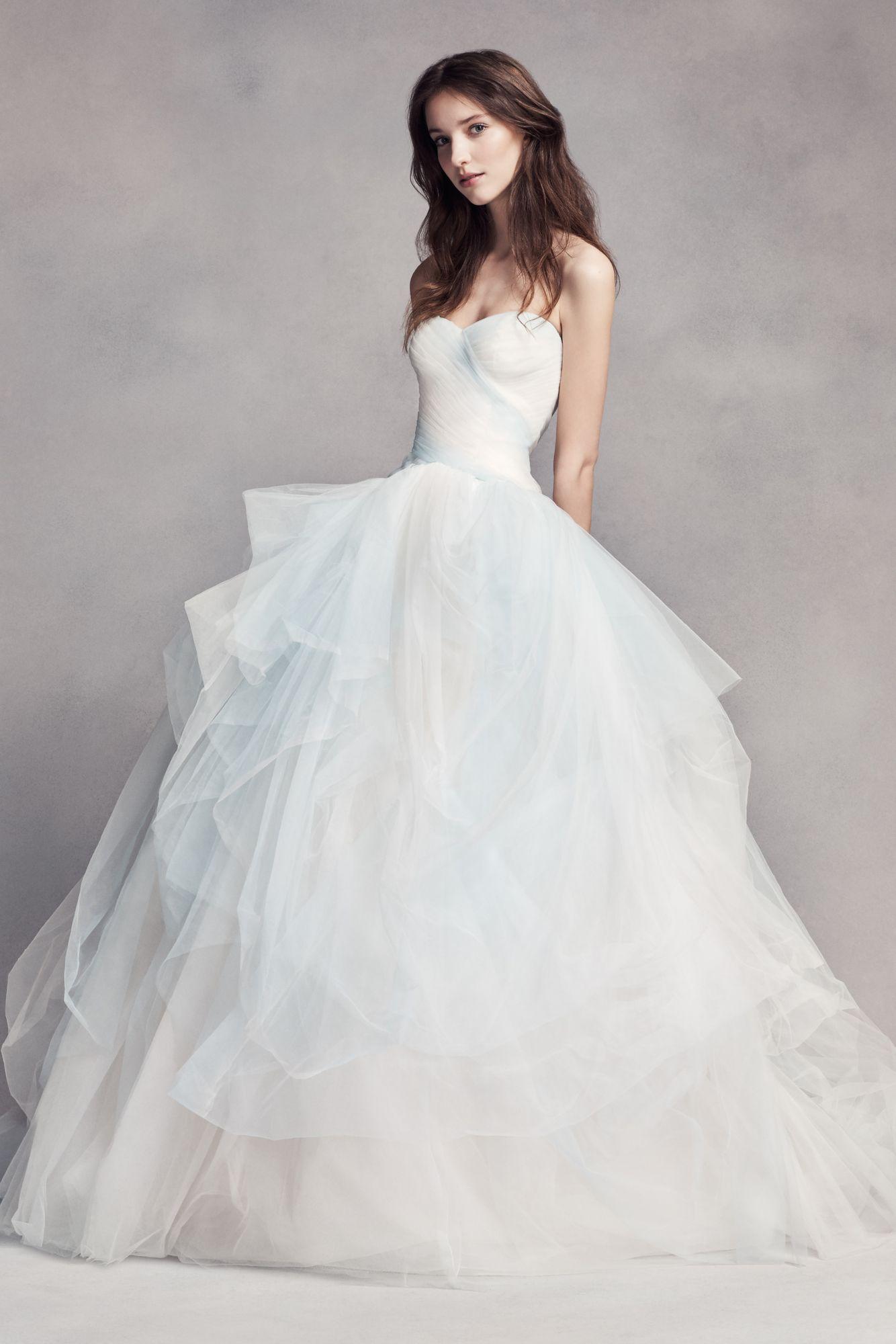 Свадебное платье vera wang фото