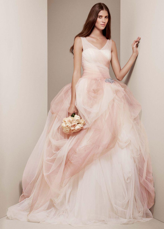Wedding Saloon :: свадебные платья розовые - Свадебные платья и