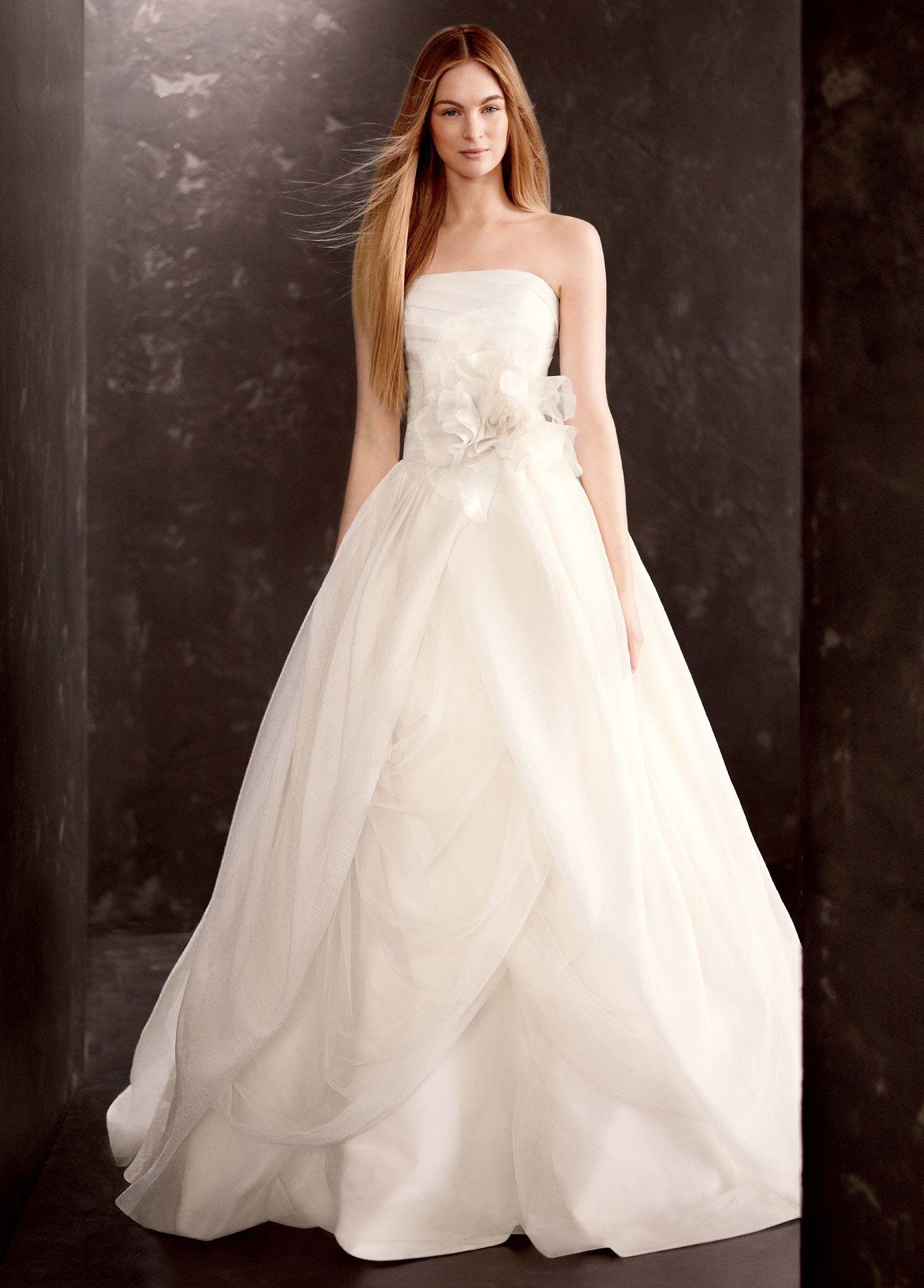 свадебные платья с плиссе